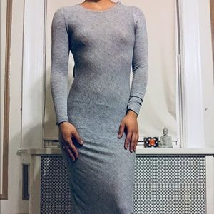 Vintage Dresses - VINTAGE  Open-Back maxi dress